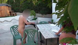 English educator fuck her student in Mallorca