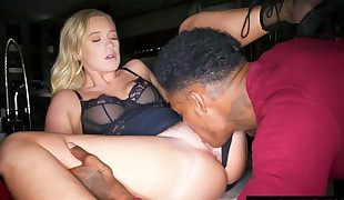 BLACKEDRAW Boyfriend with cheating  shares his ash-blonde
