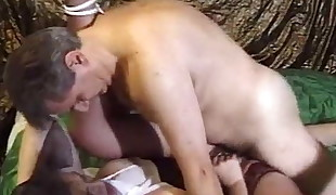 Jessica Rizzo in sexy undergarments buggered by big cock