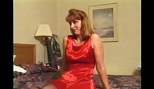 sandy-haired milf in undergarments likes ample cumshot