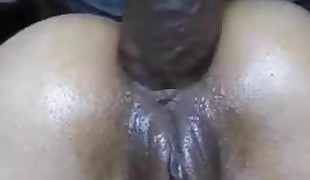 Big Dark-hued Cock  Rump Part 2 on Analbabetube.com