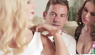 Babes - Step Mom Lessons - Viktor Solo and Candee Licious an