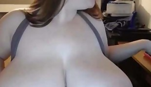 Big Boobed Plumper at home