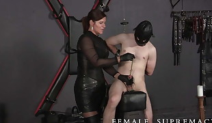 Very Strung! Femdom Featuring Dominatrix  Baroness Essex