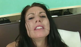 Hooked Up Milf Kimie Lambert Splattering While Pummeled