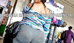 #Bundas Transparency Plus-size - GORDINHA NA TRANSPARENCIA