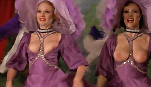 Uber-sexy CanCan Dance!