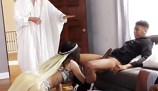 Audrey Royal Gets Her Arab Pussy Plowed By BBC