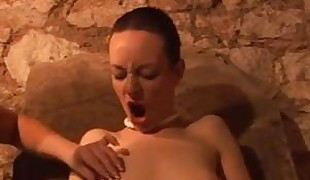 Sexy Skinny Slut gets Demolished in Bondage Film