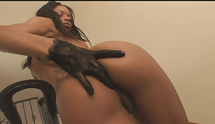 Ebony Goddess Gets Ass  And Kissed And Romped Mercilie