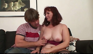 Wife watches mother-in-law taboo sex