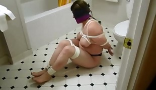 Chubby Victim Wife Bound and Abjected