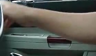 Car dick flash to highly sweety french beauty girl.